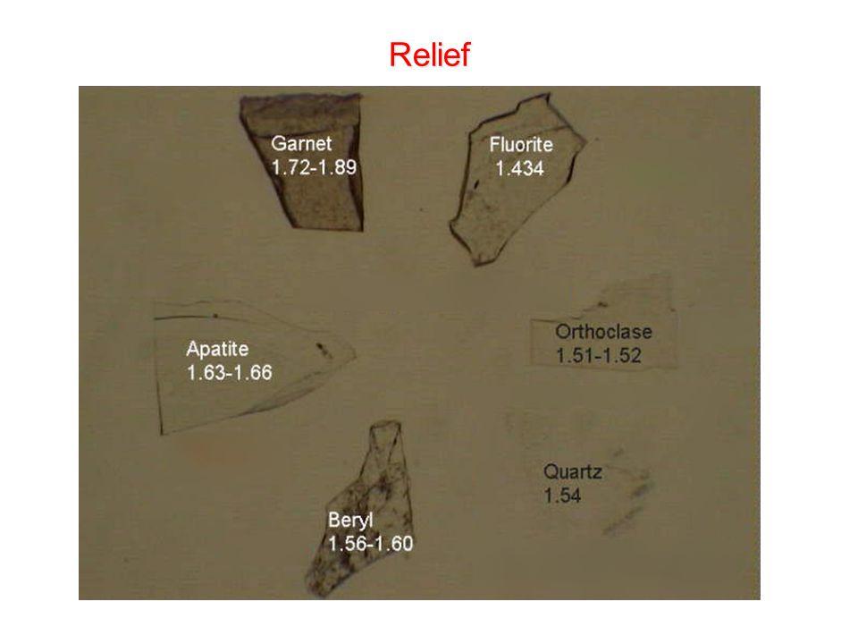Relief Relief Beobachtung bei mittlerer Blendeneinstellung