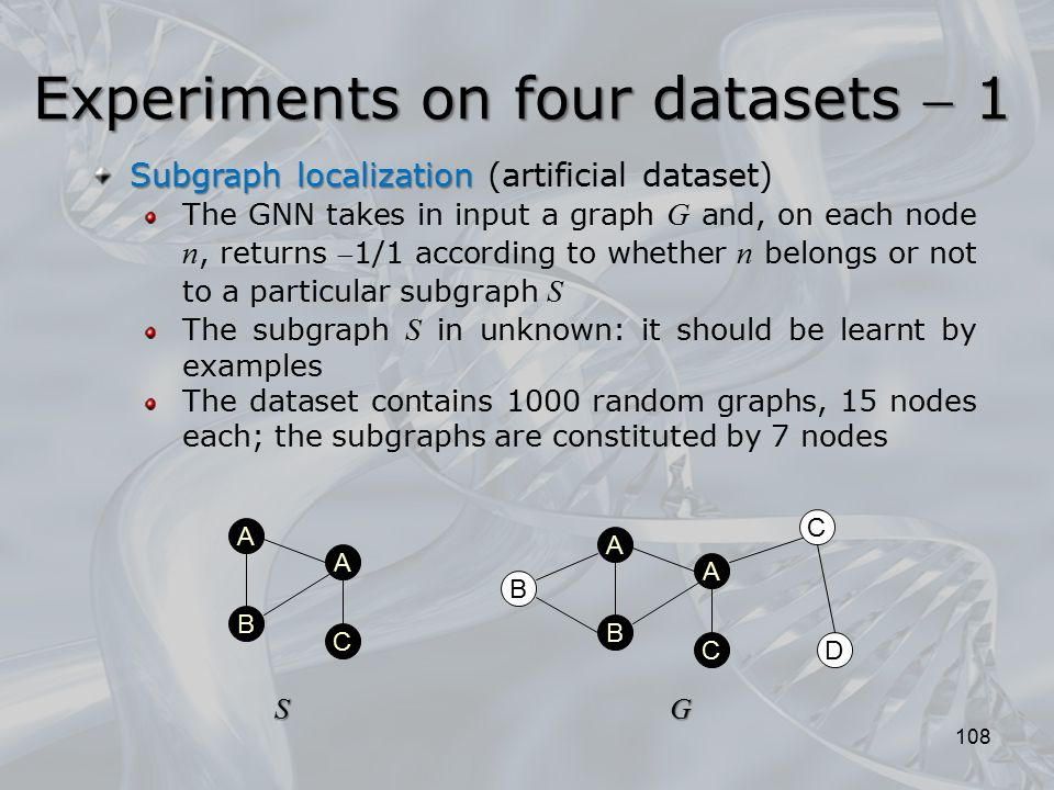 Experiments on four datasets  1