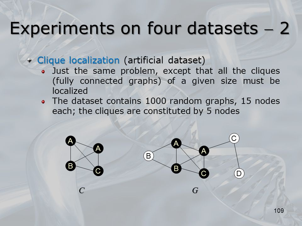 Experiments on four datasets  2