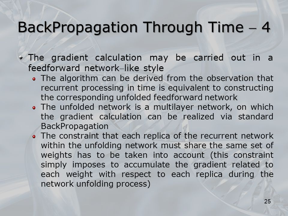BackPropagation Through Time  4
