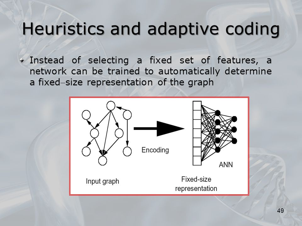 Heuristics and adaptive coding