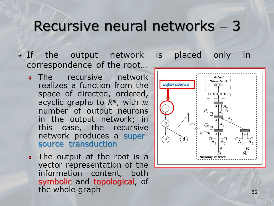 Recursive neural networks  3