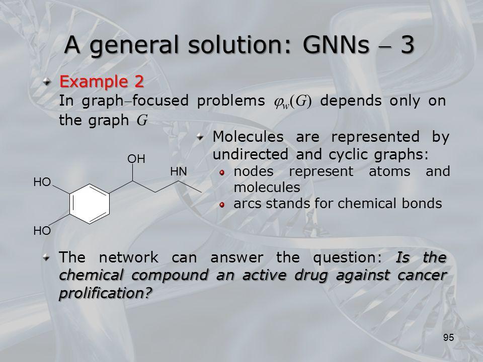 A general solution: GNNs  3