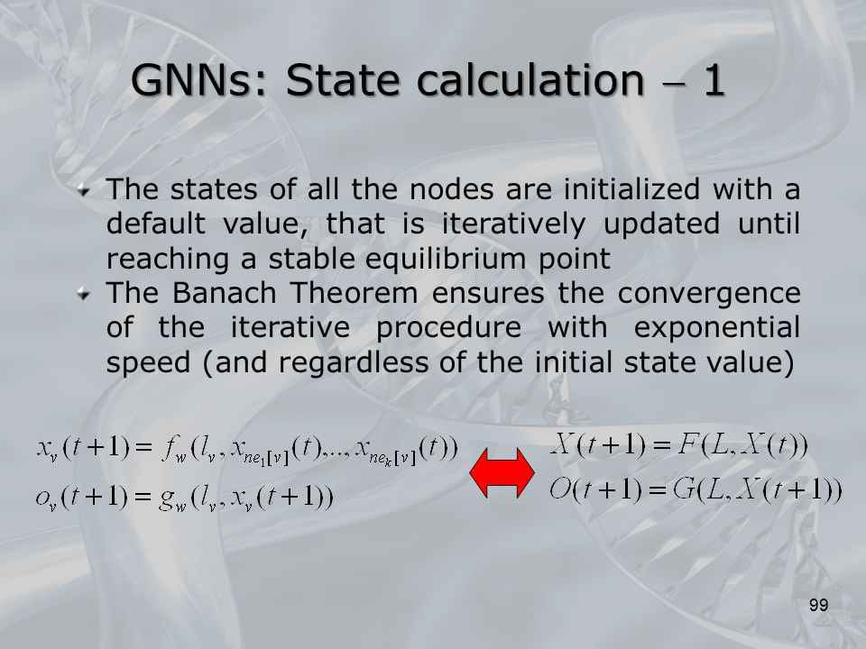 GNNs: State calculation  1