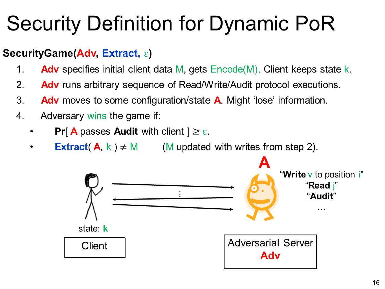 Adversarial Server Adv
