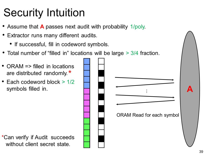 *Can verify if Audit succeeds without client secret state.