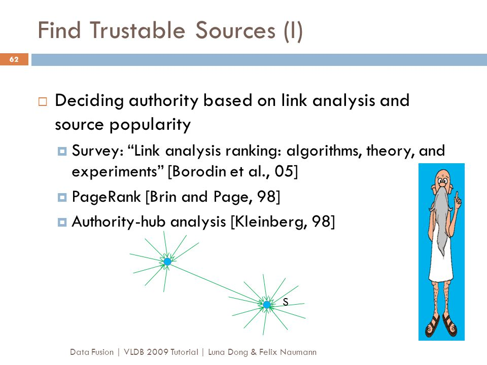 Find Trustable Sources (I)