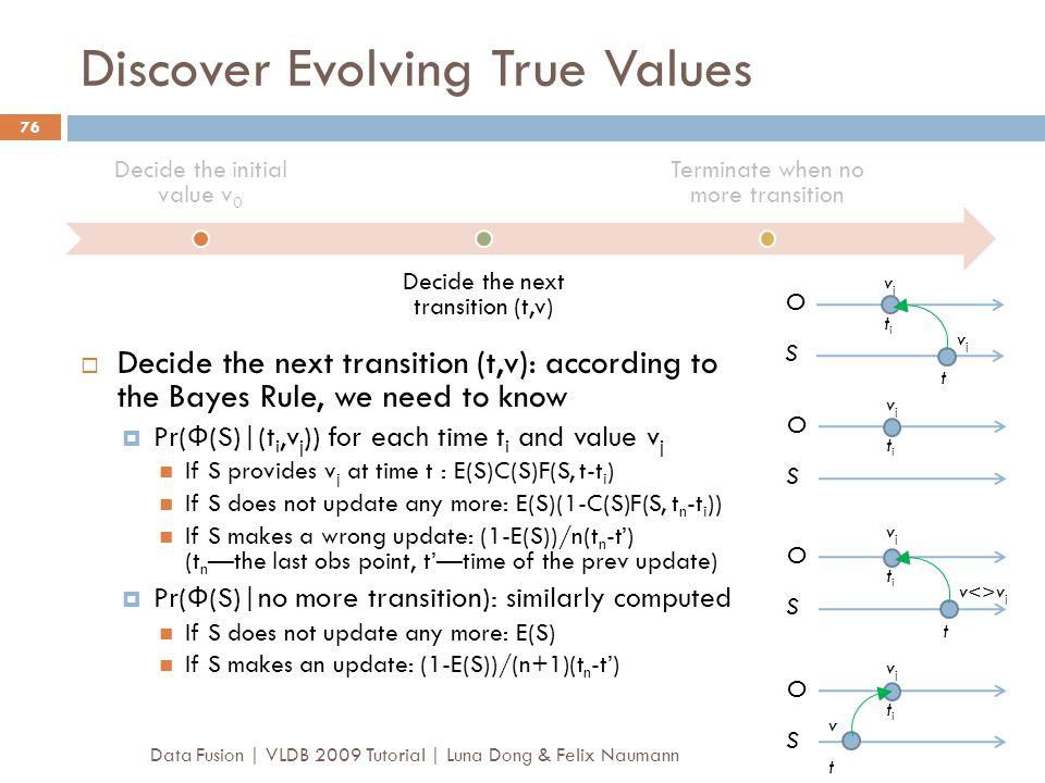 Discover Evolving True Values