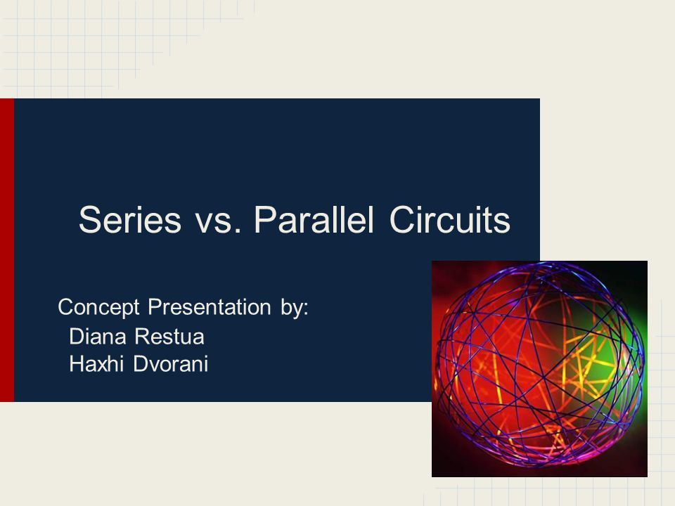 Series vs. Parallel Circuits