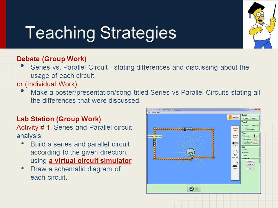 Teaching Strategies Debate (Group Work)