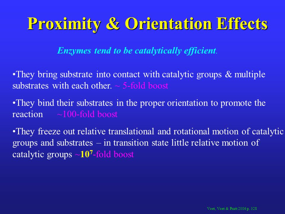 Proximity & Orientation Effects