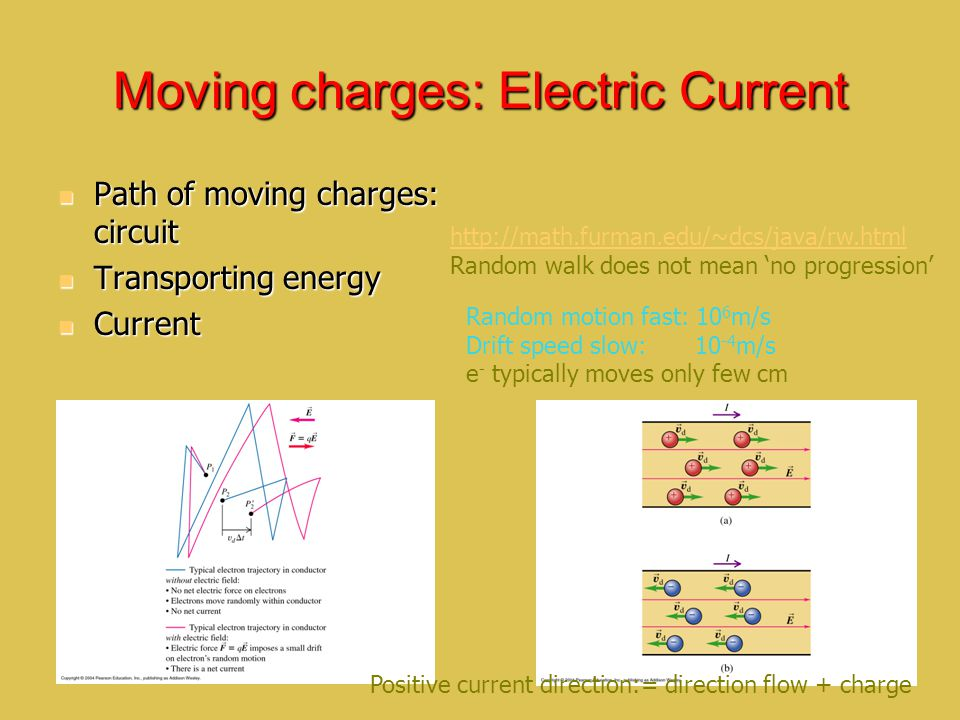 Moving charges: Electric Current