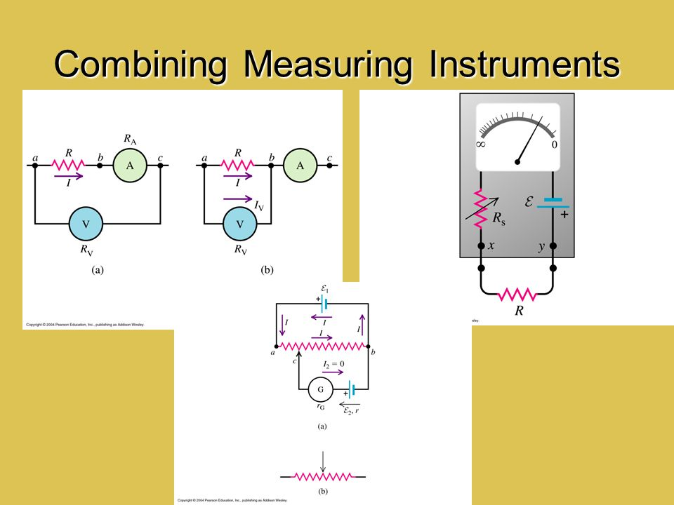 Combining Measuring Instruments