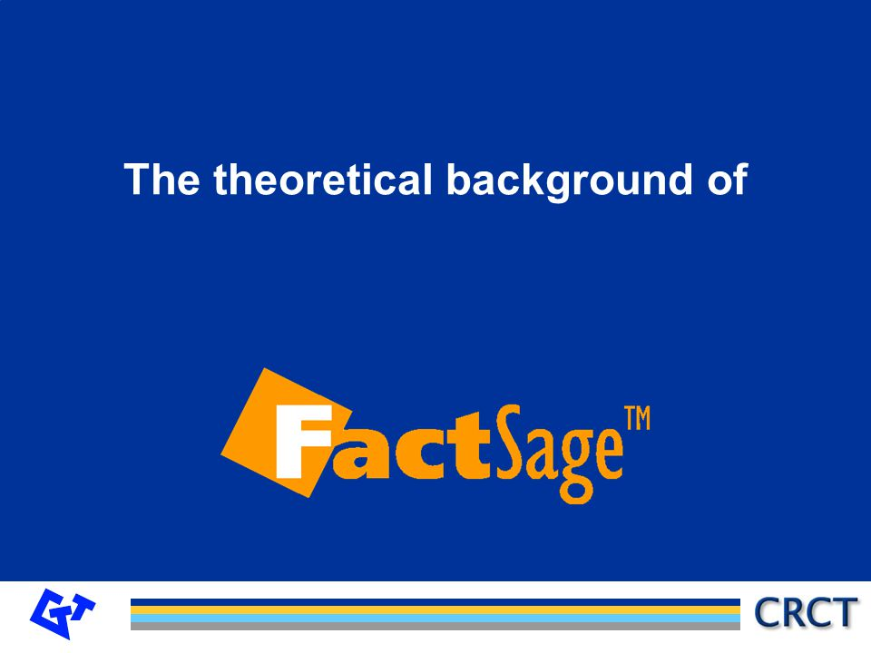 The theoretical background of