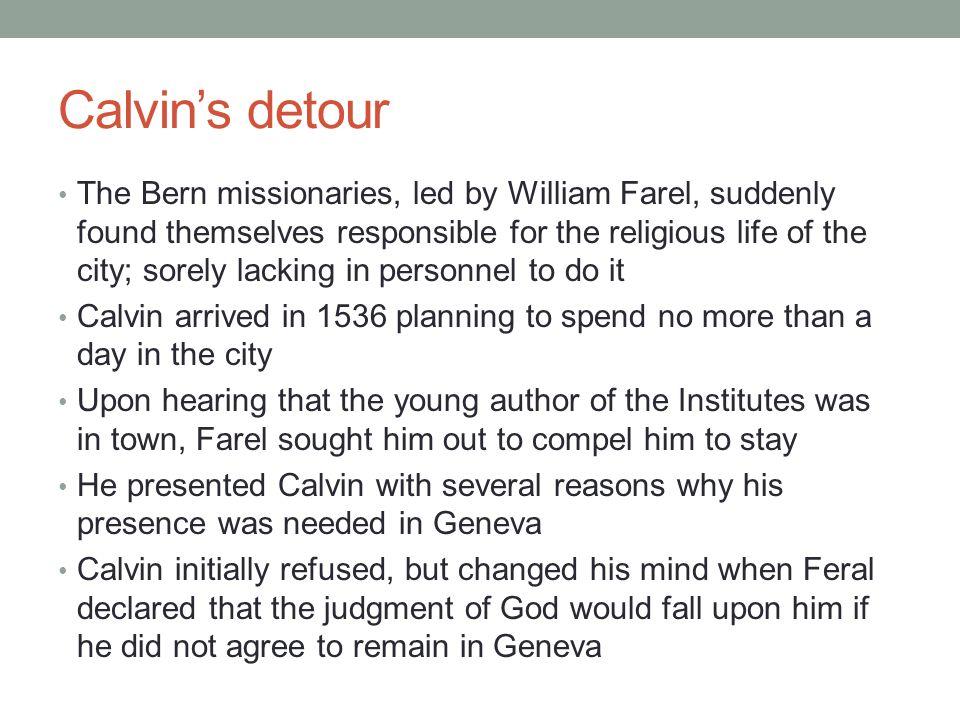 Calvin's detour