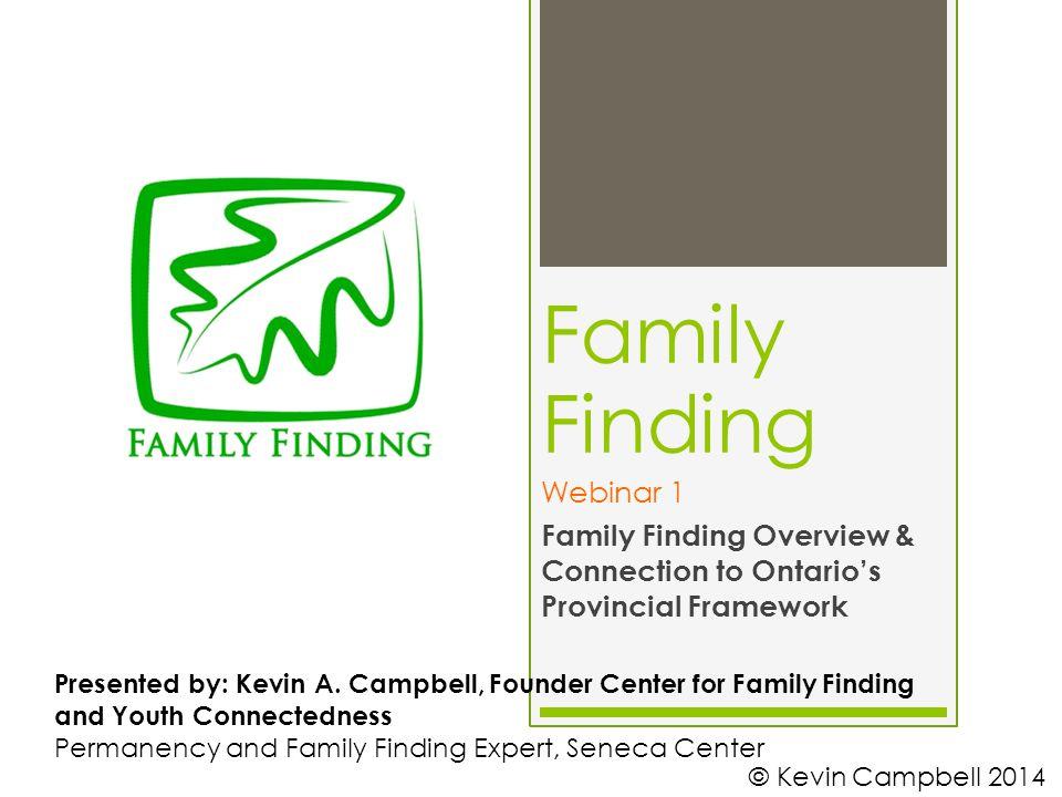 Family Finding Webinar 1