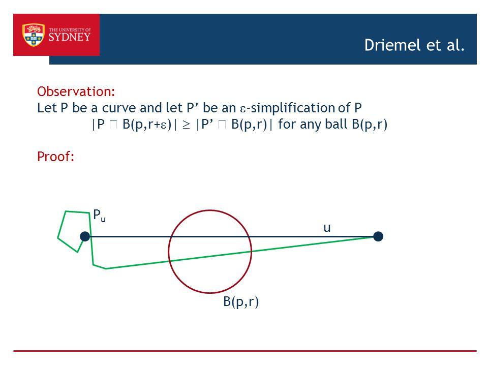 Driemel et al. Observation: