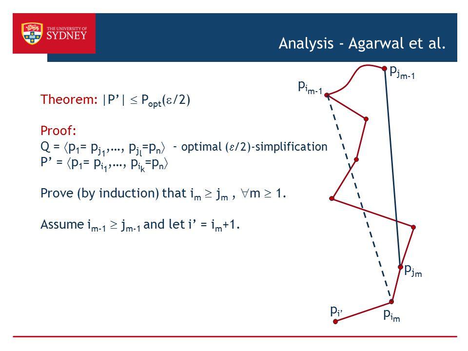 Analysis - Agarwal et al.
