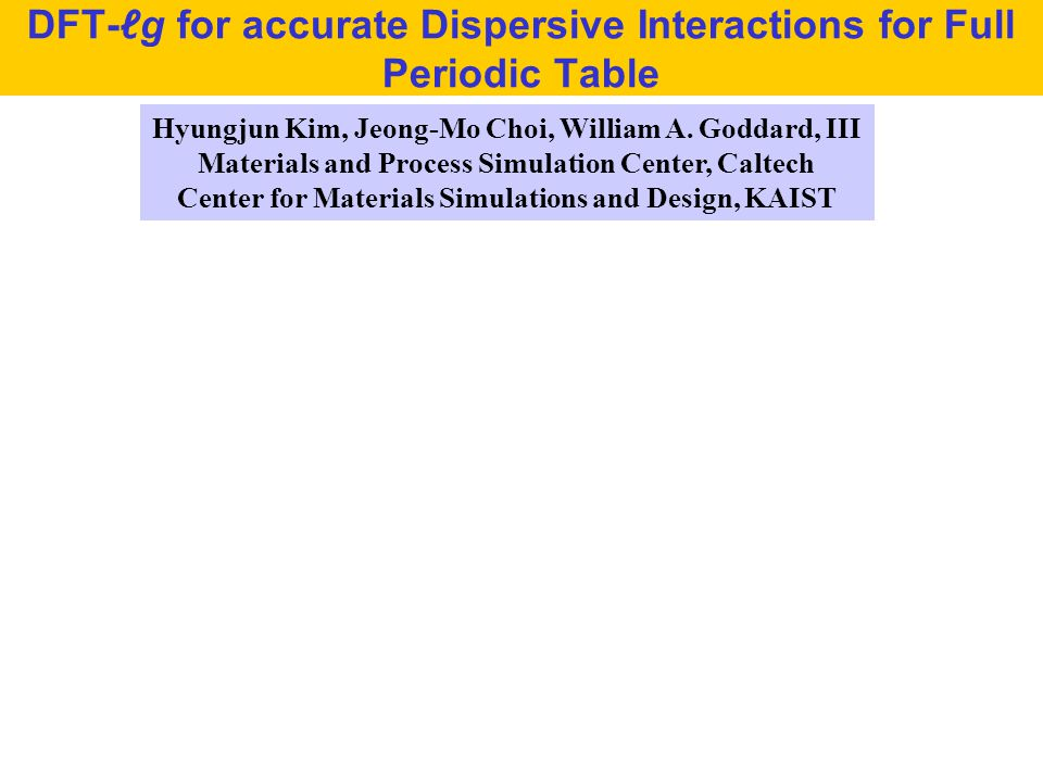 DFT-ℓg for accurate Dispersive Interactions for Full Periodic Table