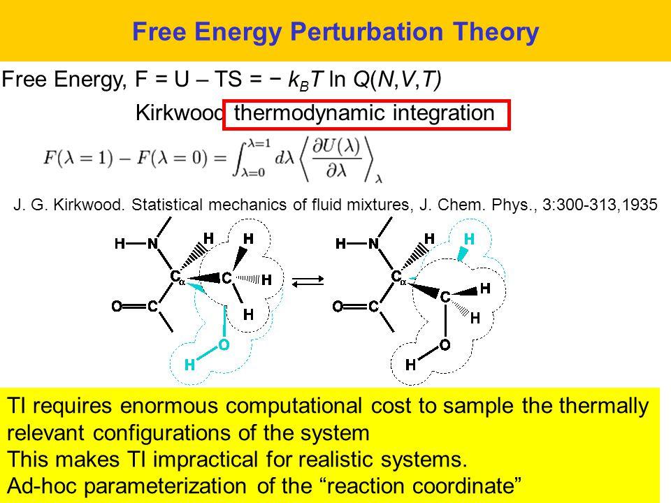 Free Energy Perturbation Theory