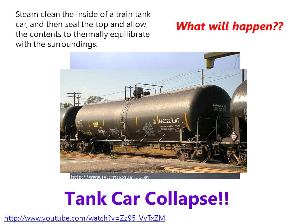 Tank Car Collapse!! What will happen