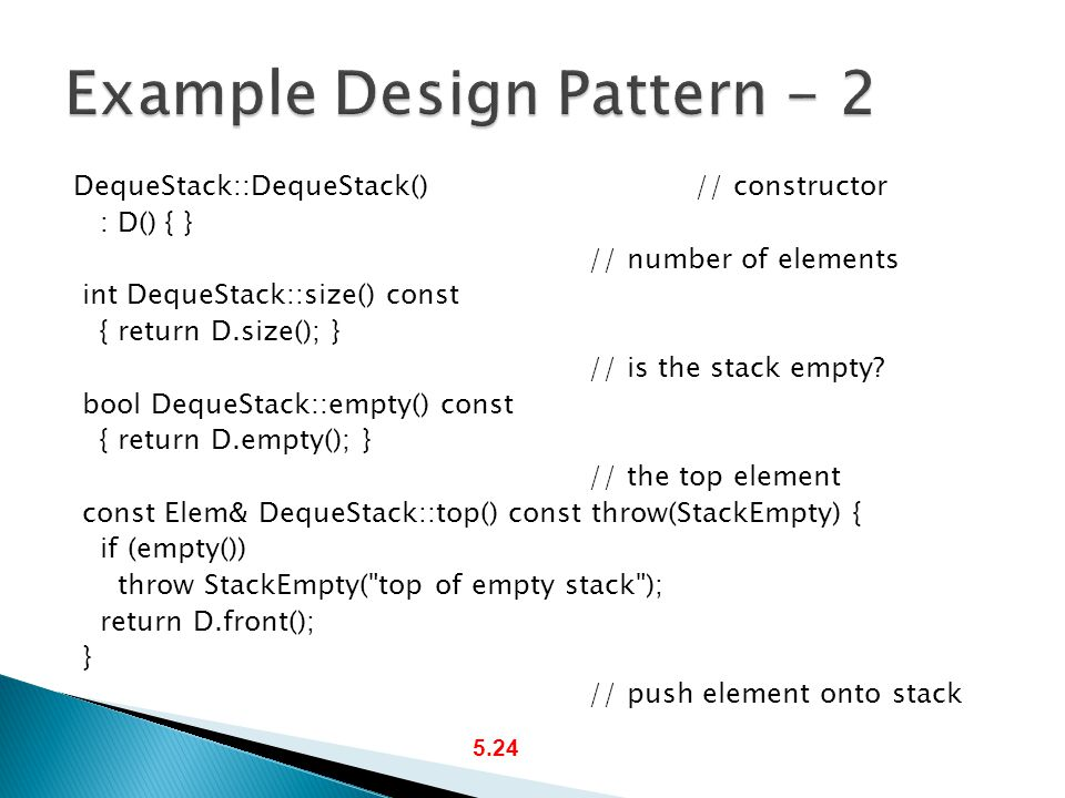 Example Design Pattern - 2