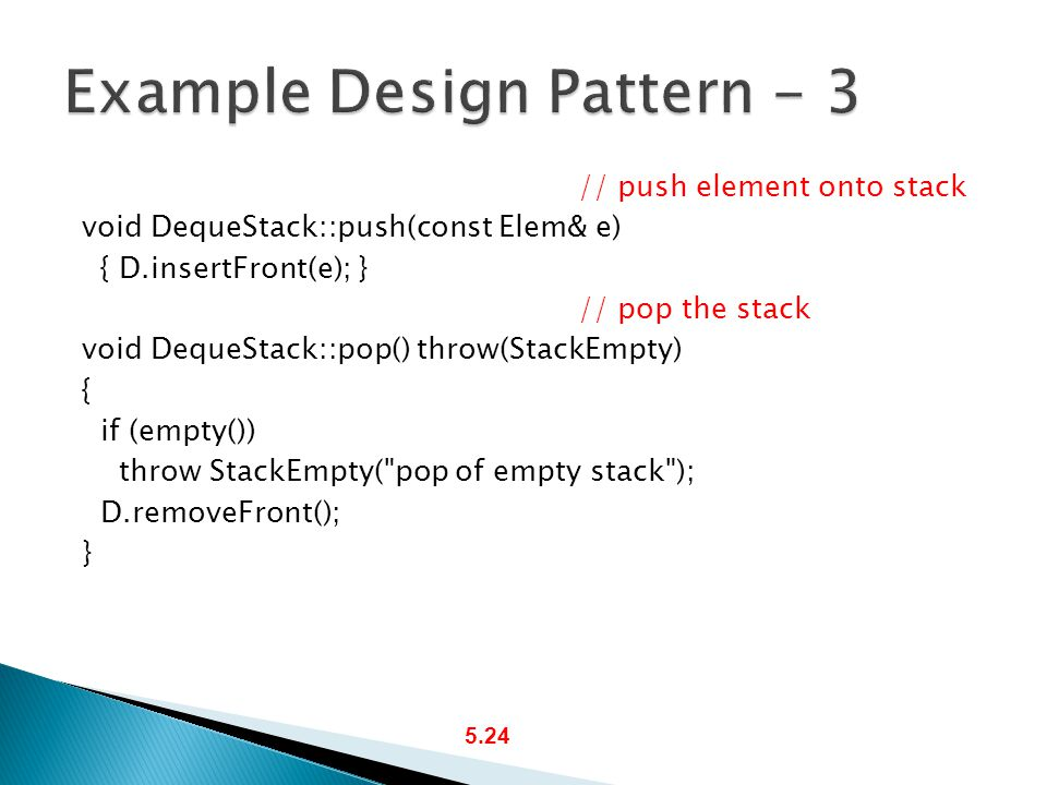 Example Design Pattern - 3