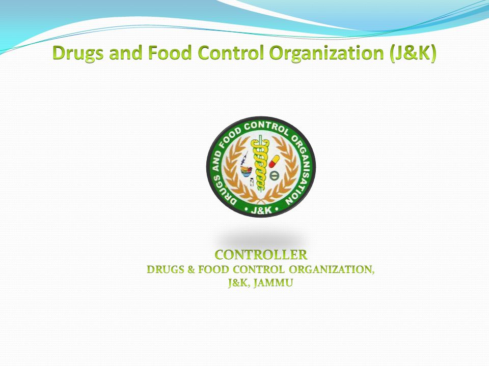 Drugs and Food Control Organization (J&K)