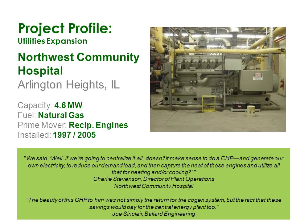 Project Profile: Northwest Community Hospital Arlington Heights, IL