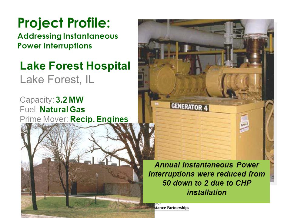 Project Profile: Lake Forest Hospital Lake Forest, IL