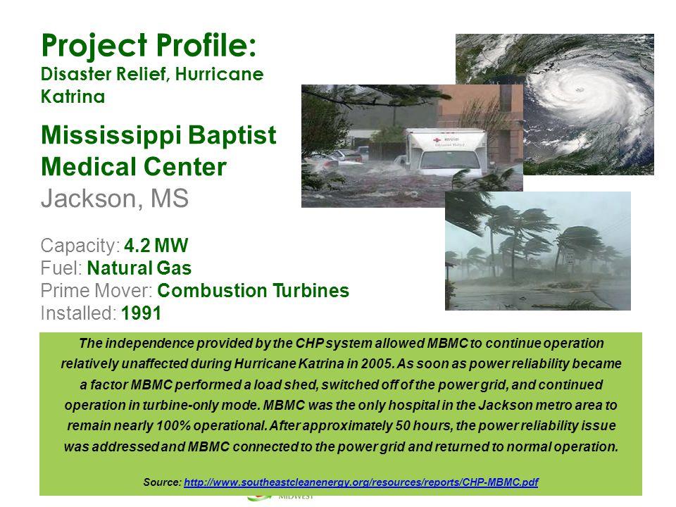 Project Profile: Mississippi Baptist Medical Center Jackson, MS