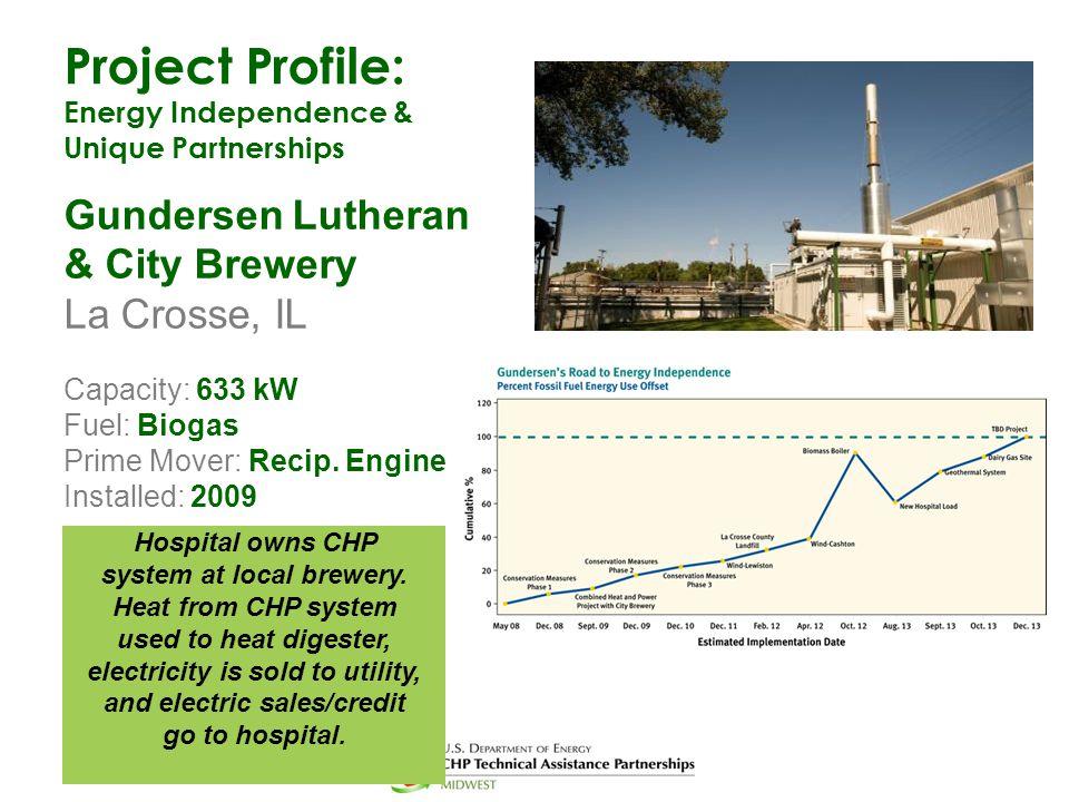 Project Profile: Gundersen Lutheran & City Brewery La Crosse, IL