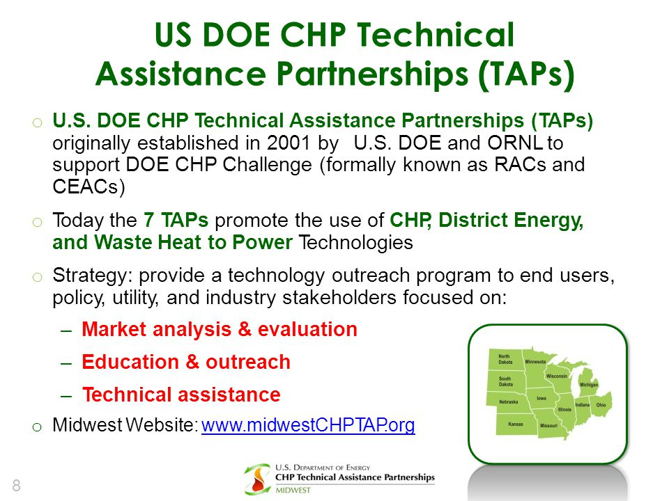 Assistance Partnerships (TAPs)