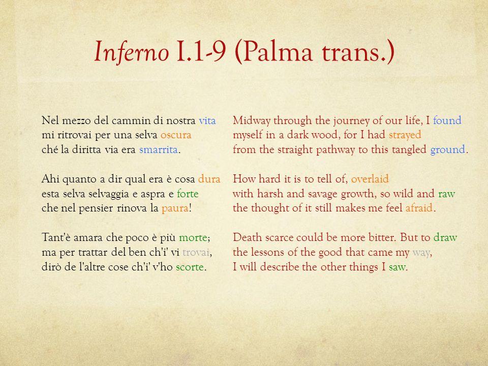 Inferno I.1-9 (Palma trans.)