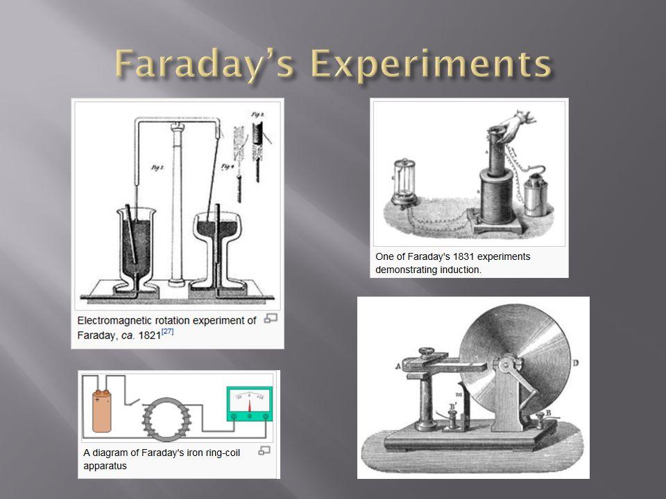 Faraday's Experiments