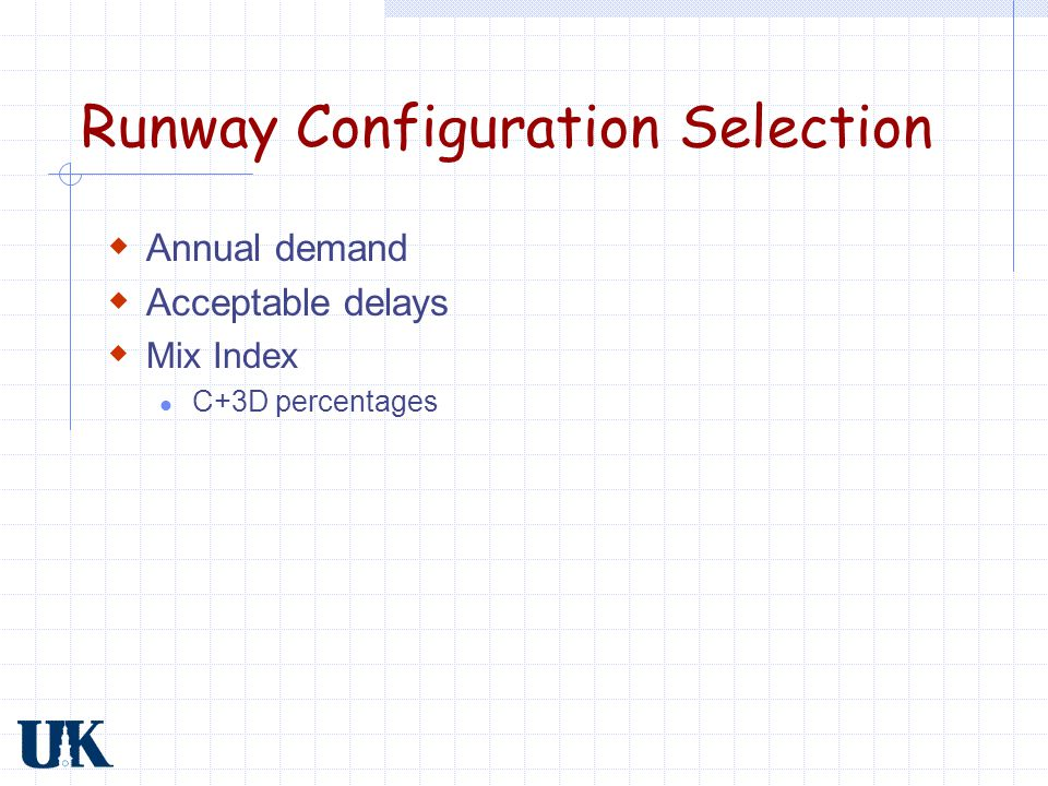 Runway Configuration Selection