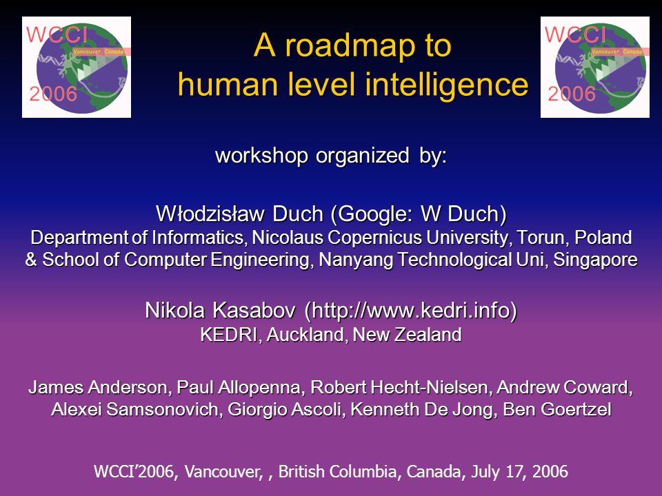 A roadmap to human level intelligence