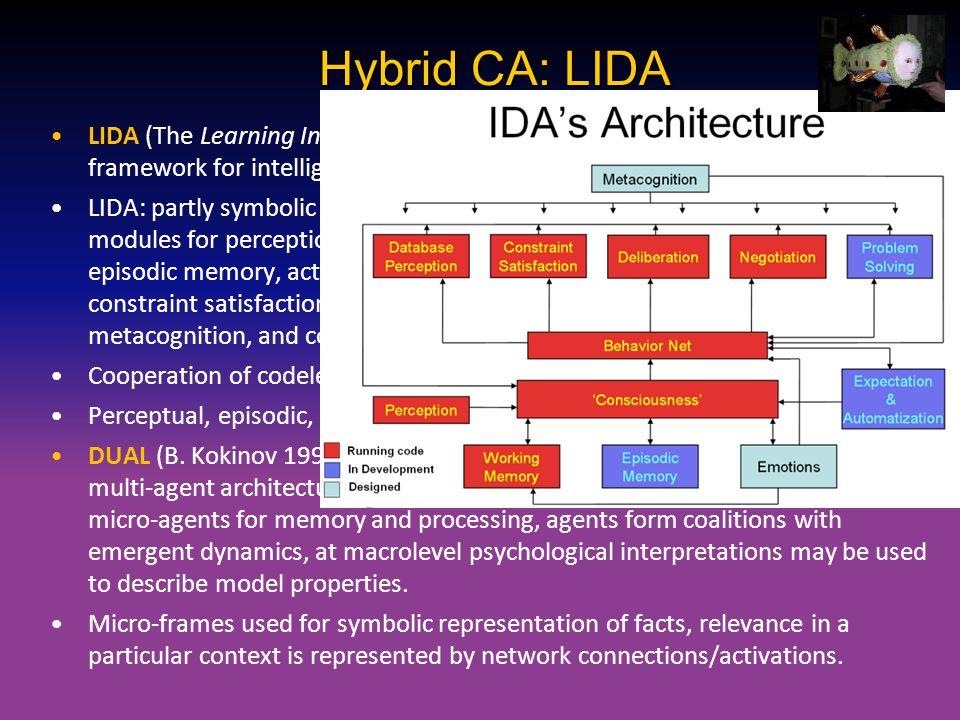 Hybrid CA: LIDA