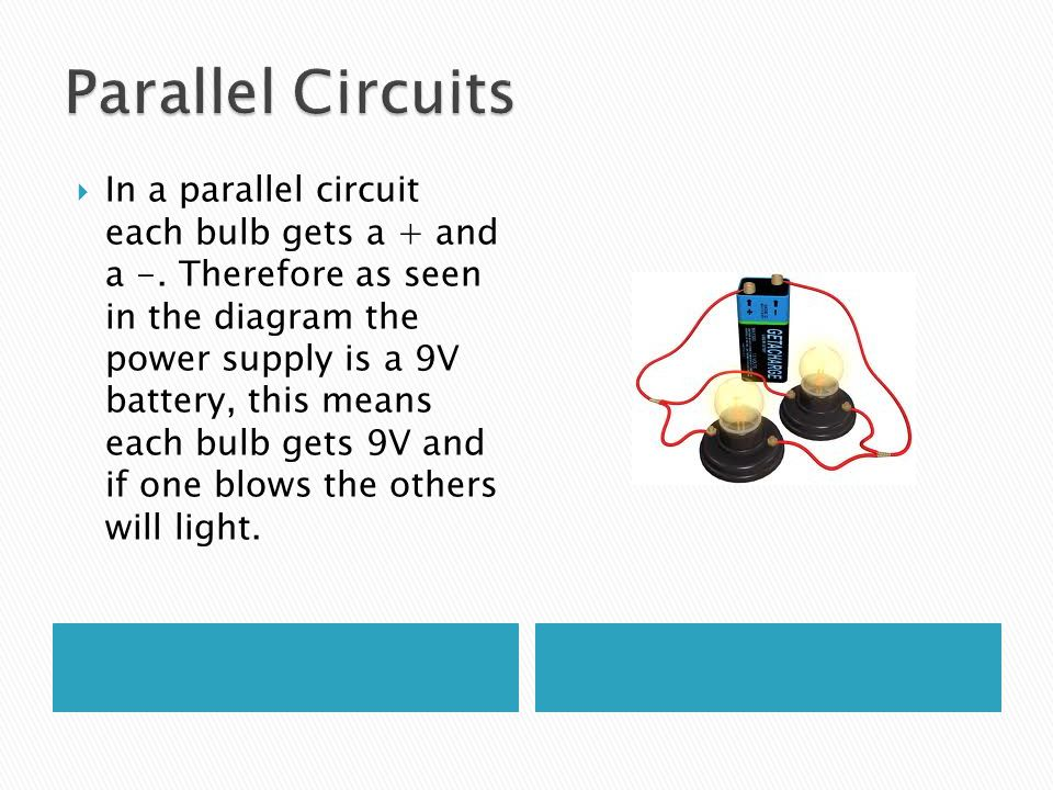 Parallel Circuits