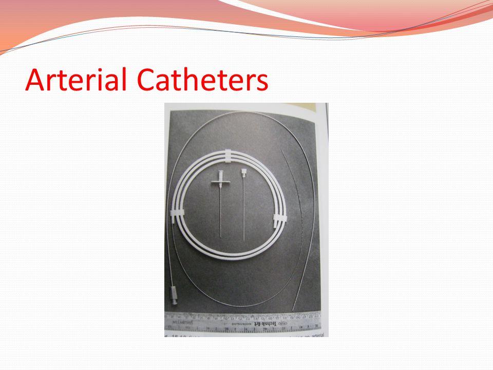Arterial Catheters