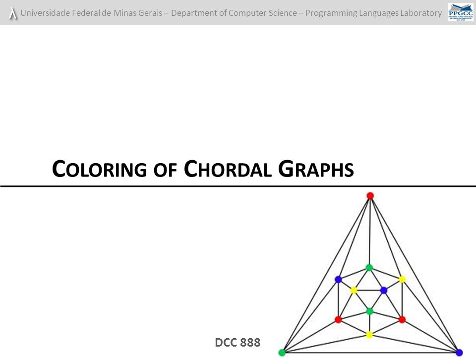 Coloring of Chordal Graphs