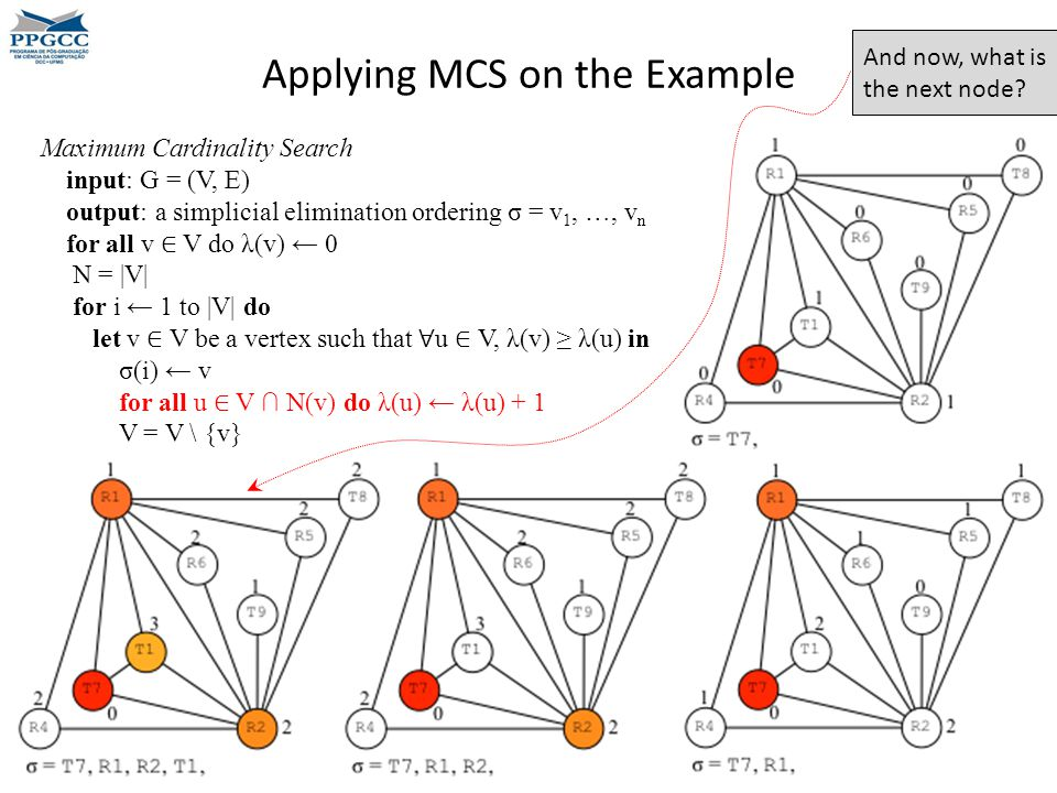 Applying MCS on the Example