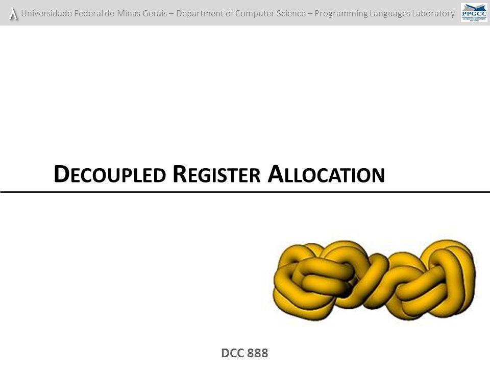 Decoupled Register Allocation