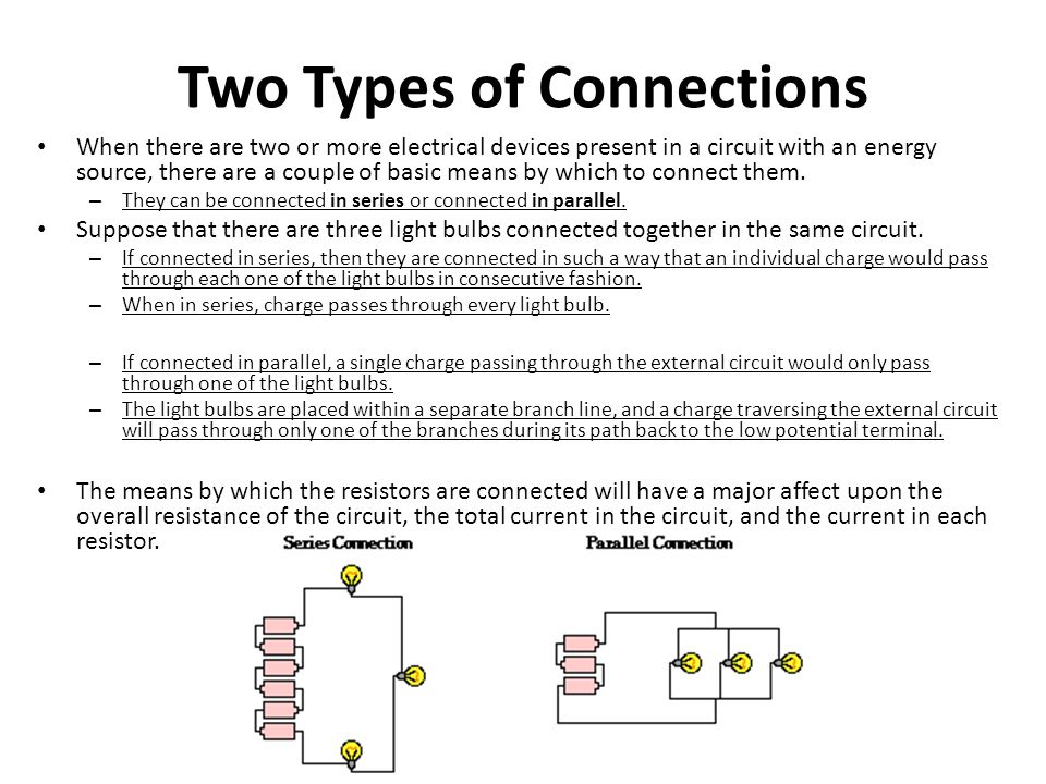 Two Types of Connections