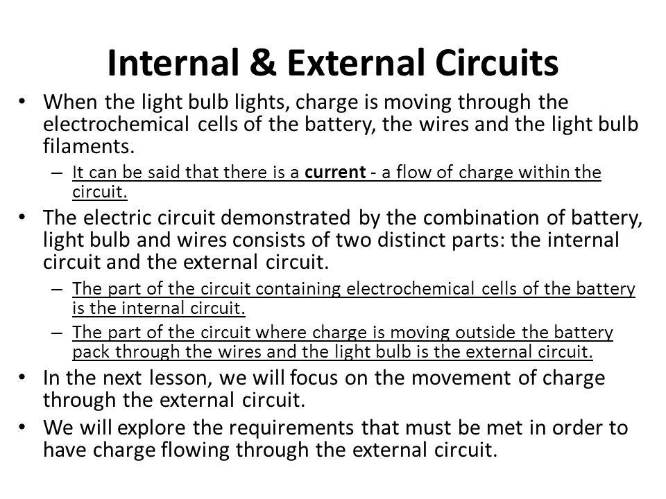 Internal & External Circuits