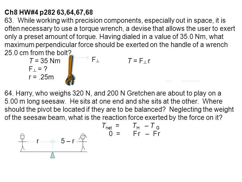 Ch8 HW#4 p282 63,64,67,68