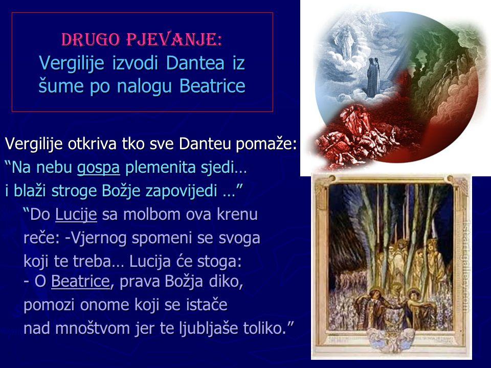 Drugo pjevanje: Vergilije izvodi Dantea iz šume po nalogu Beatrice