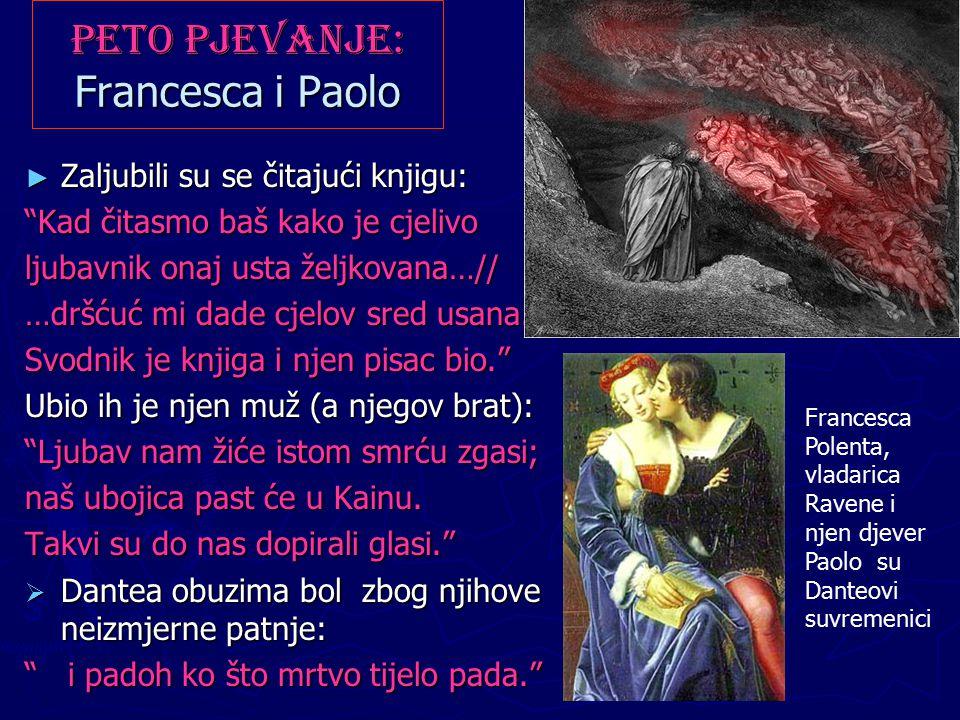 Peto pjevanje: Francesca i Paolo