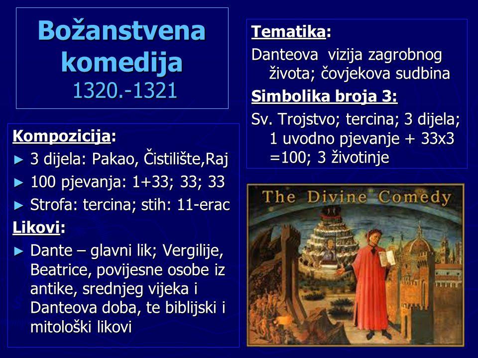 Božanstvena komedija 1320.-1321