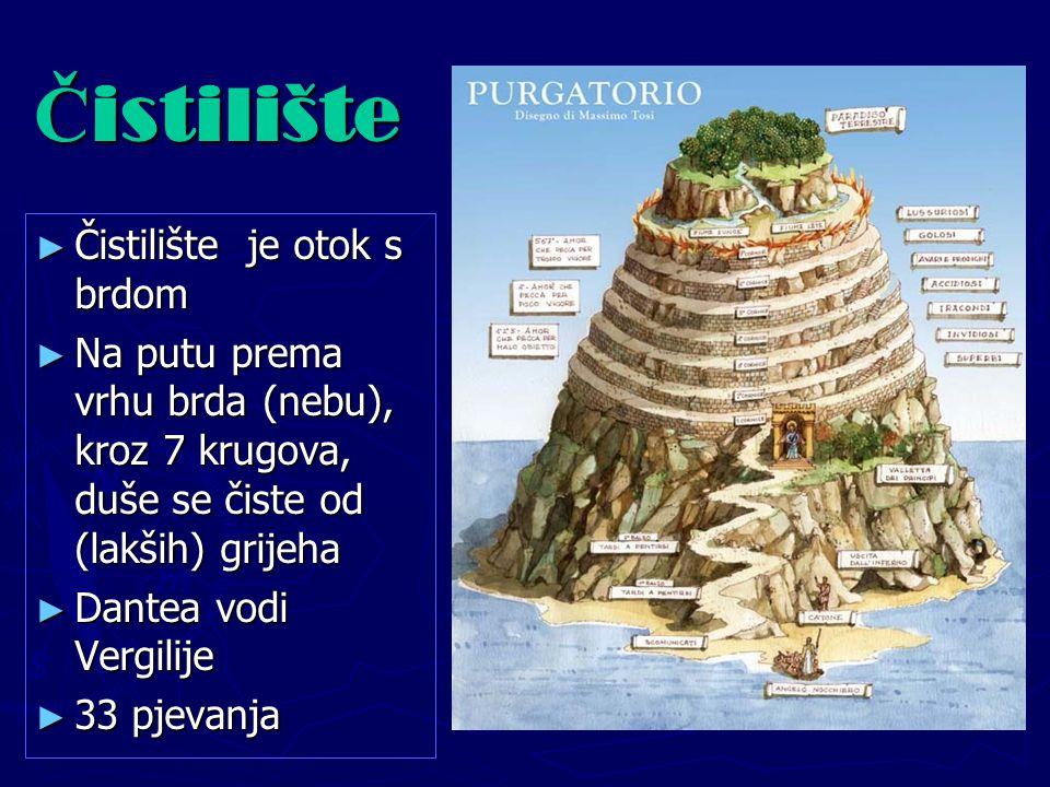 Čistilište Čistilište je otok s brdom